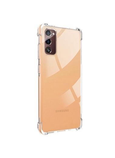 Microsonic Microsonic Samsung Galaxy S20 FE Kılıf Shock Absorbing Şeffaf Renksiz